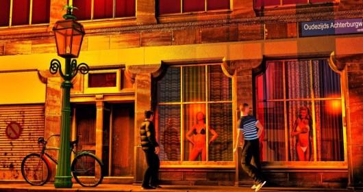 Красная улица - ветрина
