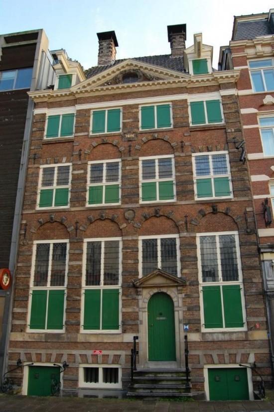 Дом-музей Рембрандта в Амстердаме - вход