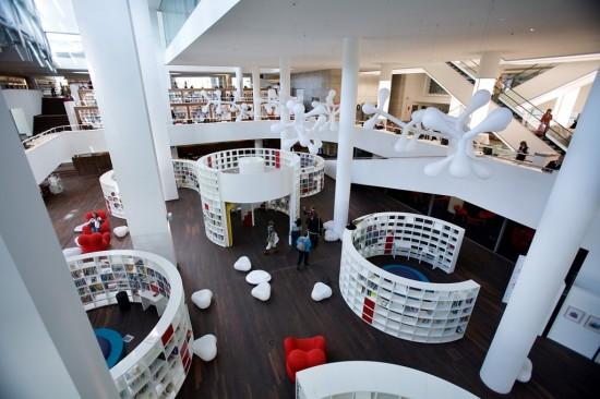 Публичная библиотека в Амстердаме (3)