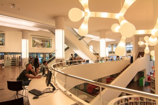 Публичная библиотека в Амстердаме (5)