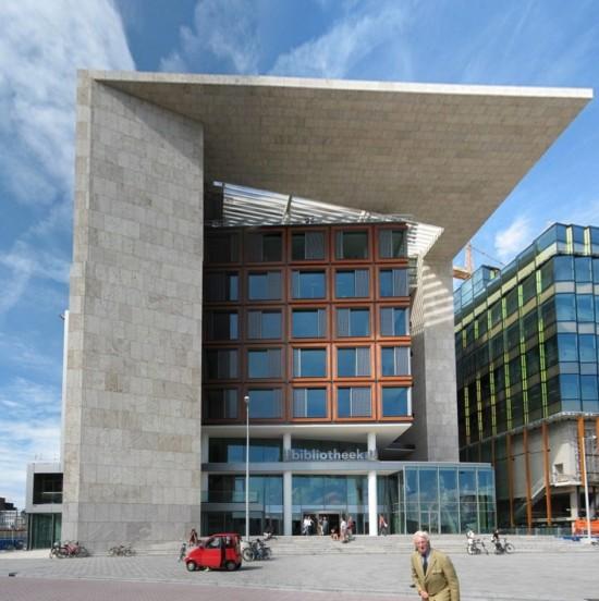 Публичная библиотека в Амстердаме (6)
