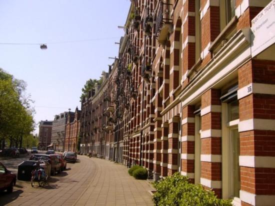 Район в Амстердаме Вэст  (West) (3)