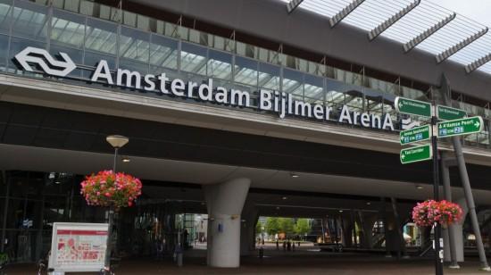 Bijlmer train station