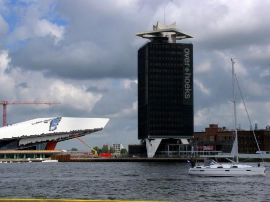 Башня Оверкохс в Амстердаме (3)