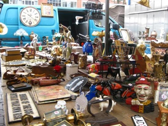 Блошиный рынок в Амстердаме -  Waterlooplein (3)