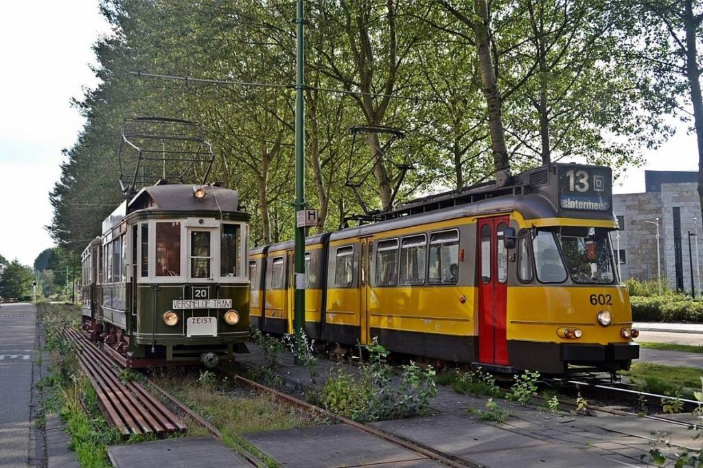 Музей трамвая в Амстердаме (1)