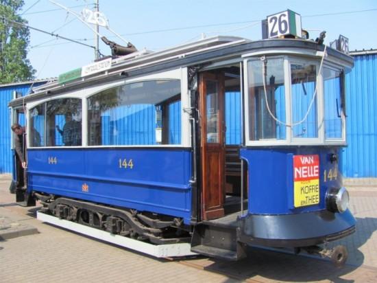 Музей трамвая в Амстердаме (3)
