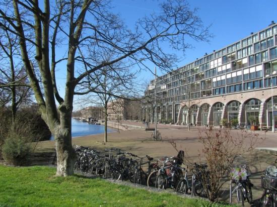 Комплекс  Энтрепотдок в Амстердаме1