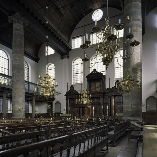 Большая португальская синагога в Амстердаме1