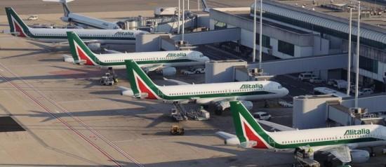 Из Рима в Амстердам на самолете
